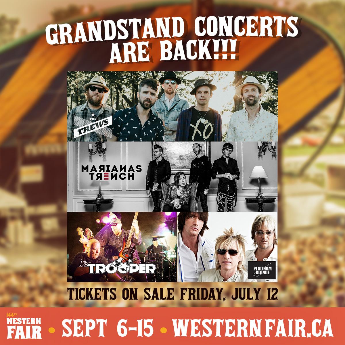 Grandstand Concerts