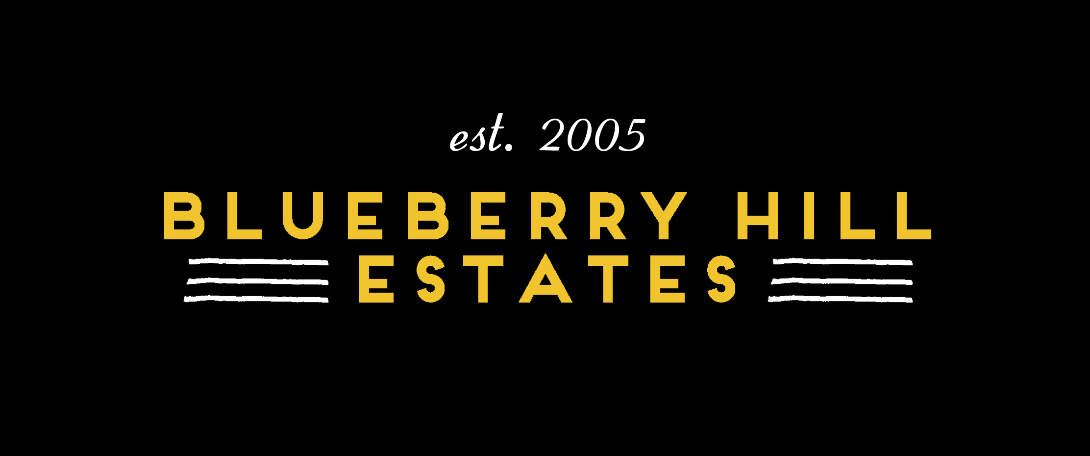 Blueberry Hill Estates Logo