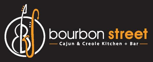 Bourbon Street Cajun Grill Kitchen Logo