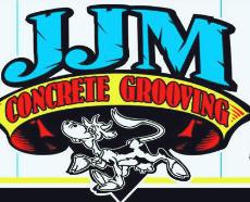 JJM Concrete Grooving Logo