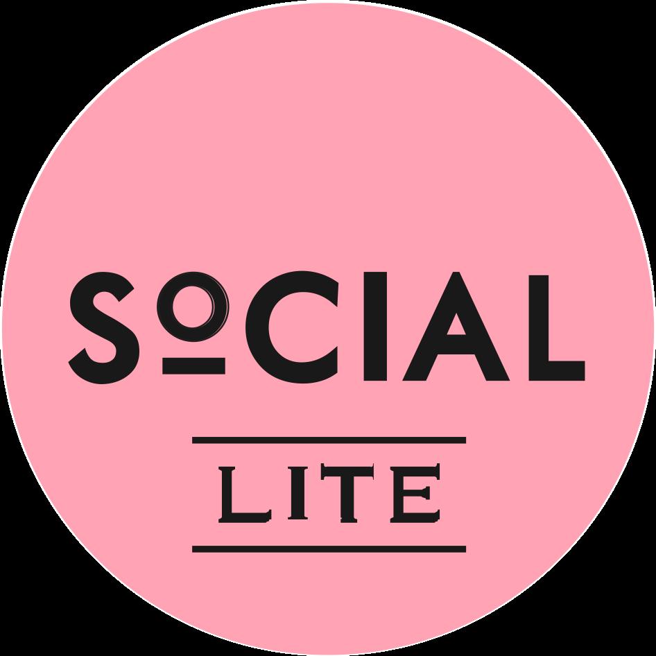 SoCIAL LITE Vodka Soda Logo