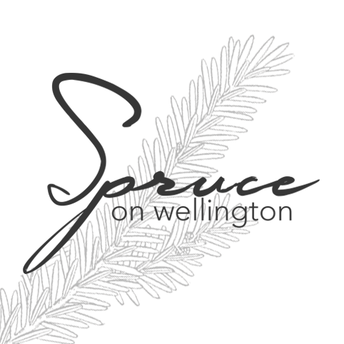 Spruce on Wellington Logo