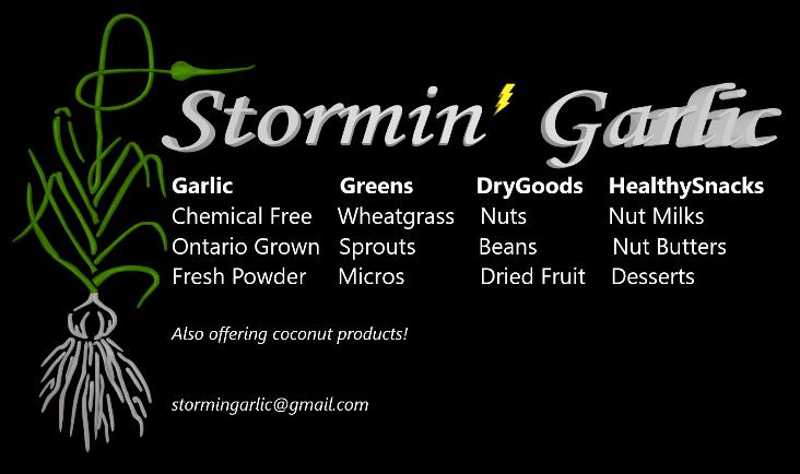 Stormin' Garlic Logo