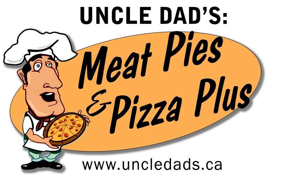 Uncle Dad's Meat Pies & Pizza Plus Logo