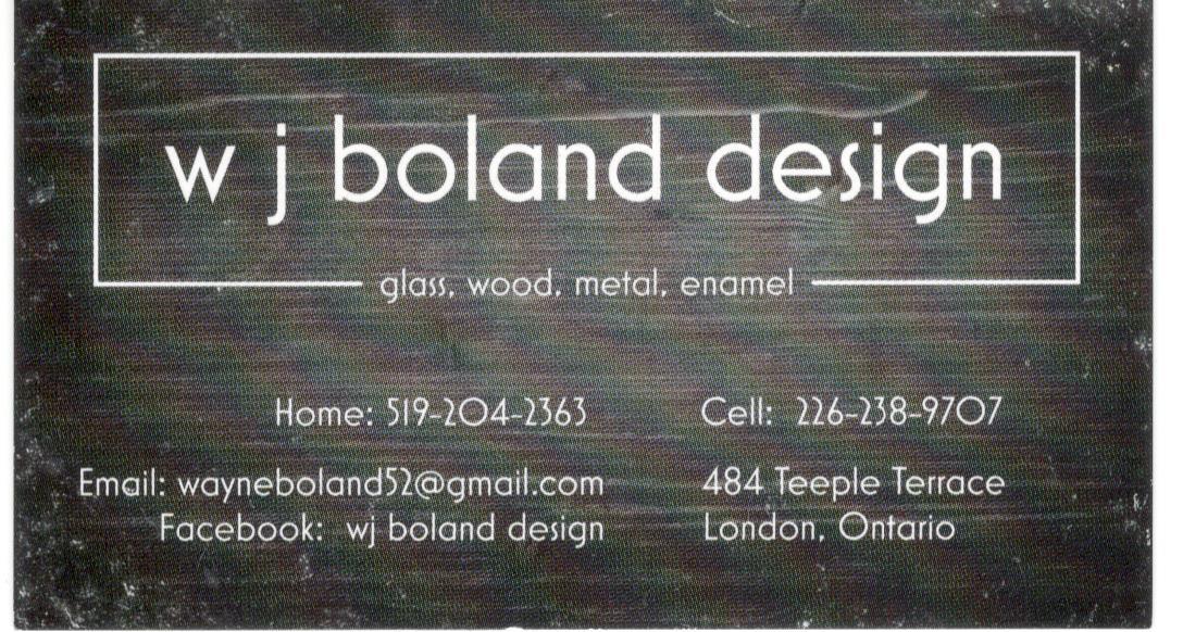 WJ Boland Design Logo