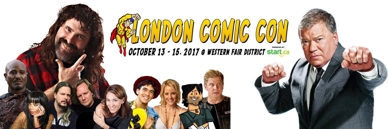 London Comic Con: Oct 13–15, 2017