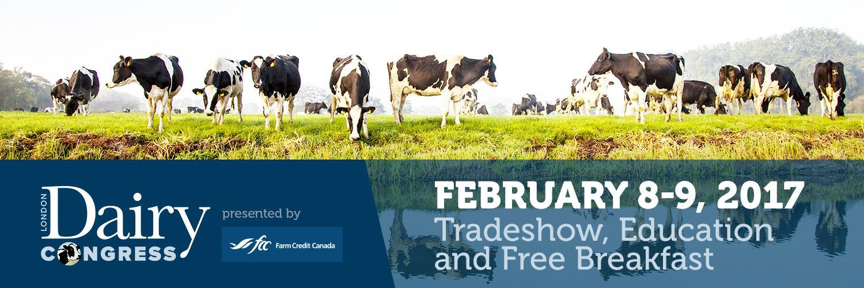 London Dairy Congress: FEB 8 & 9, 2017