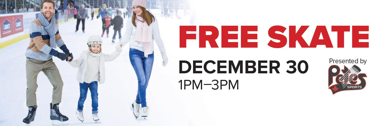 Free Skate presented by Petes Sports