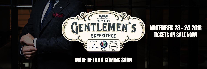 Gentlemens Experience Banner Image