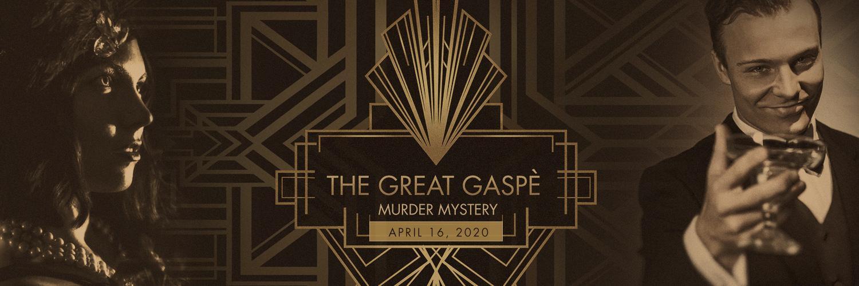 Great Gaspe Murder Mystery Headline Image