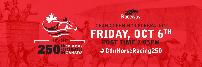 Raceway: Opening Friday Celebrations