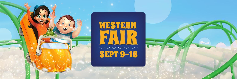 Western Fair: September 9-18