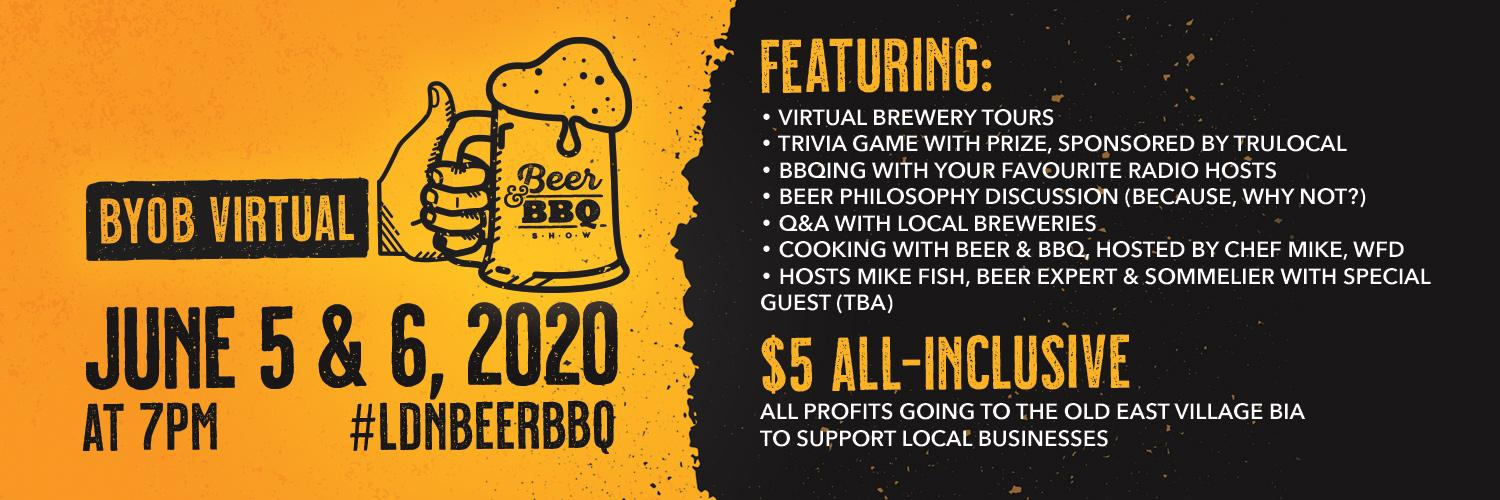 Virtual Beer & BBQ Headline Image