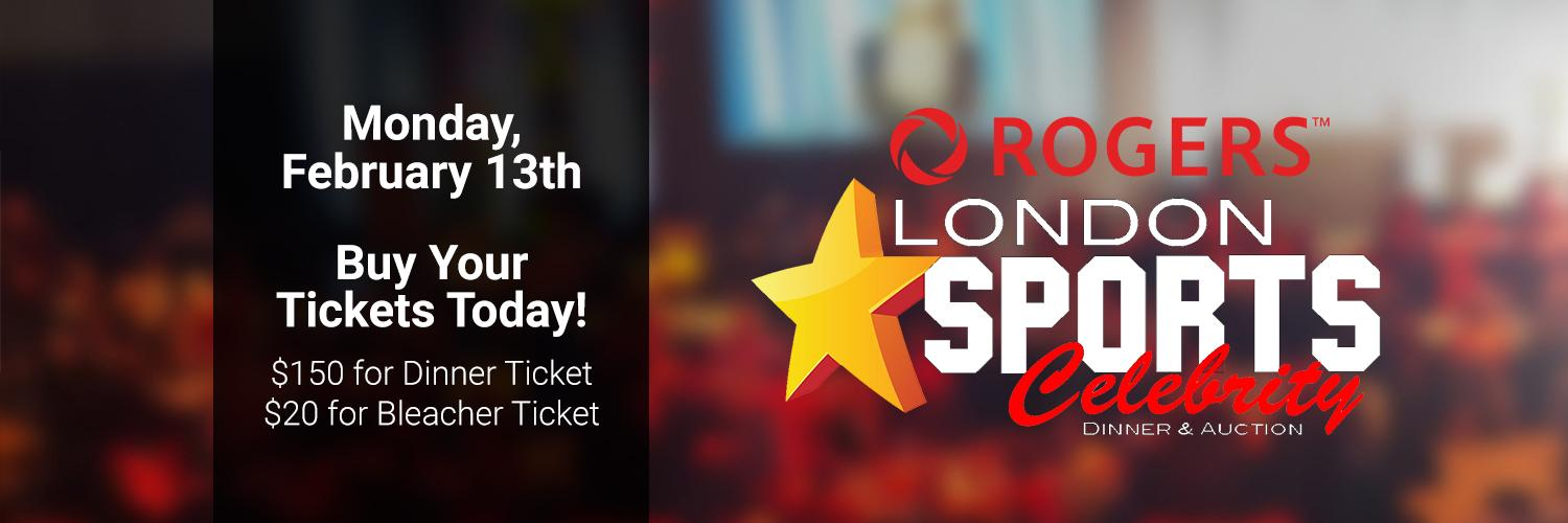 Roger's London Sports Celebrity Dinner and Auction
