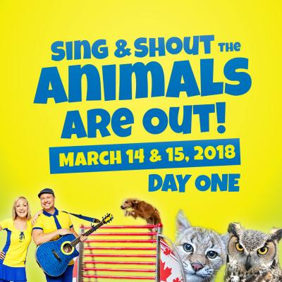 Sing & Shout The Animals Are Out SI