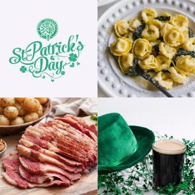St Patrick's day - meal