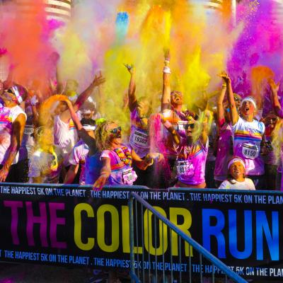 the color run summary image