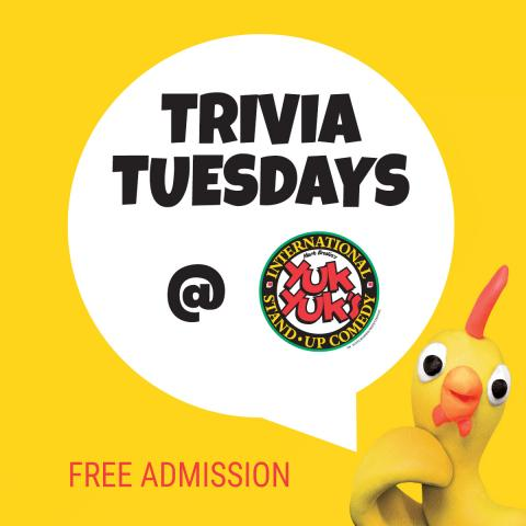Trivia Tuesdays
