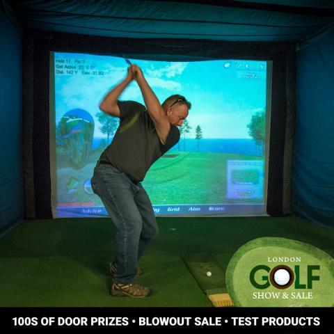 Golf Show & Sale Simulator