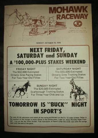 Mohawk Raceway 1978