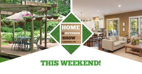 Home & Outdoor Show This Weekend!