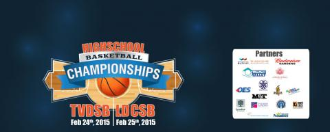 Highschool Basketball Championships Logo