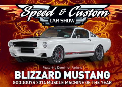 2015 Speed & Custom Car Show Logo