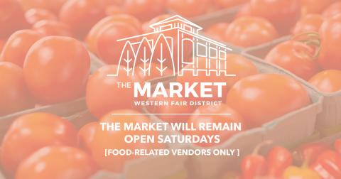 The Market Open Saturday Only