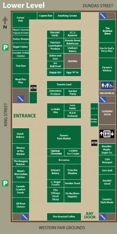 1st floor map