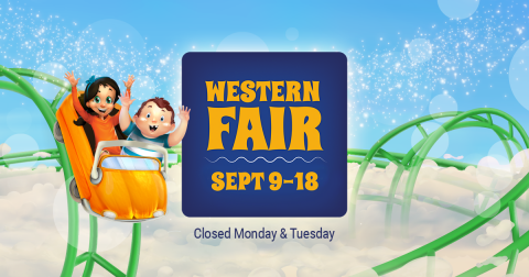 Western Fair, September 9-18