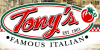 Tony's Pizza Logo