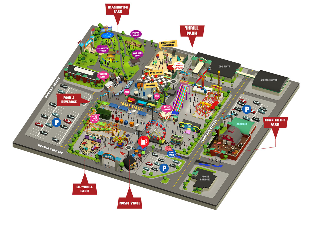 Western Fair Grounds Map