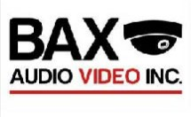 Bax Audio Video Inc. Logo