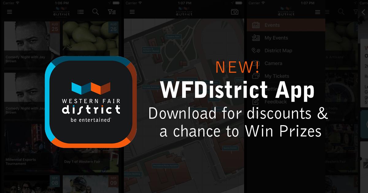 Mobile App | Western Fair | Western Fair District