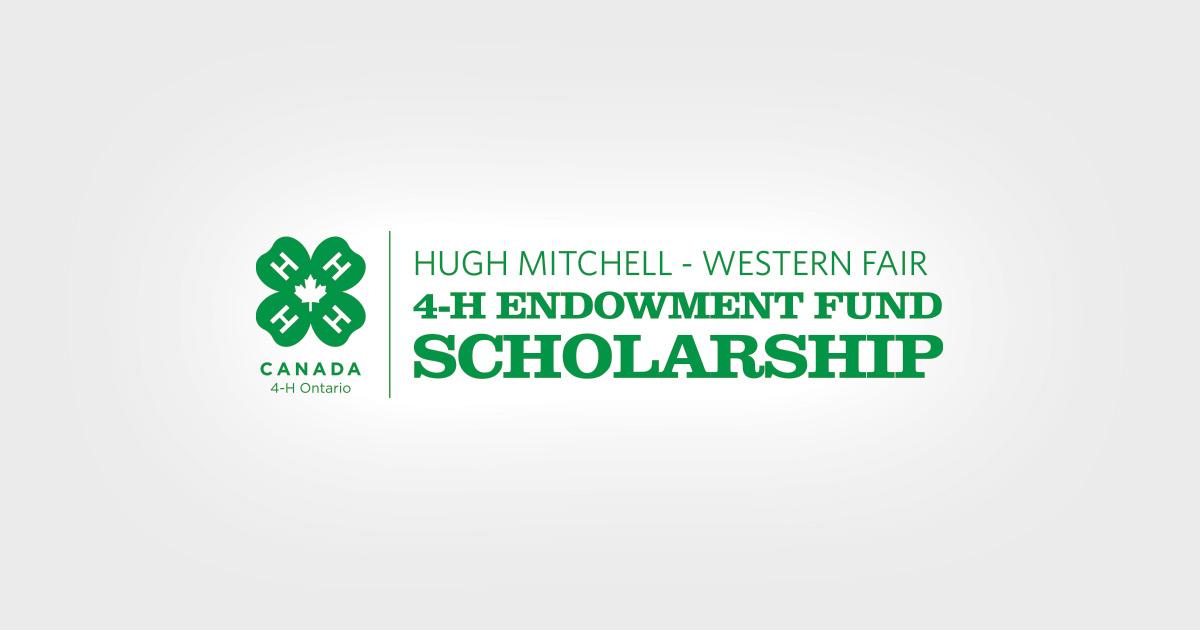 4H Scholarship