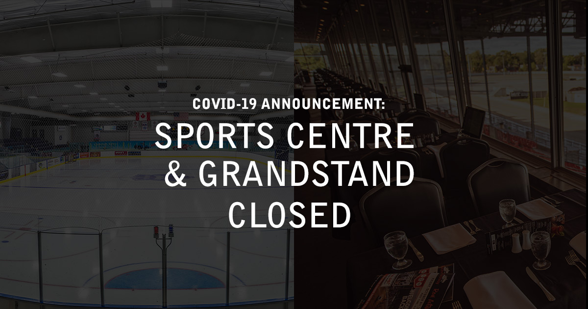 Sports Centre Closed