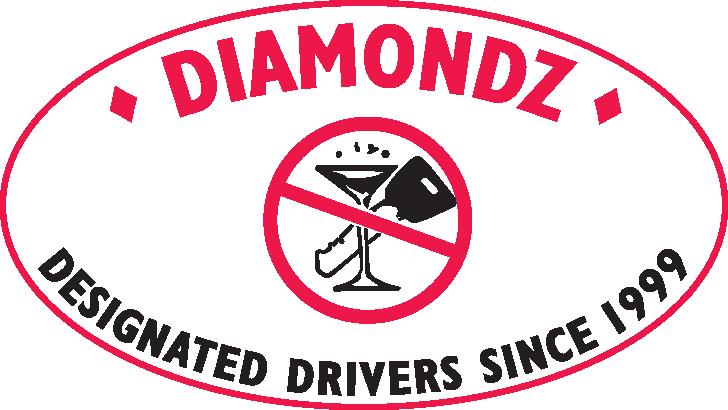 Diamondz Designated Drivers Logo