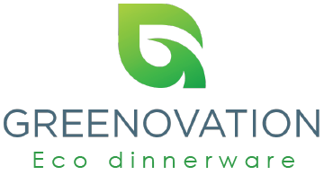 Greenovation – Eco Dinnerware Logo