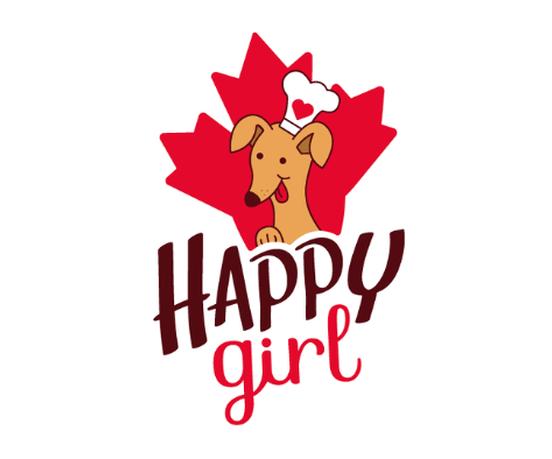 Happy Girl Dog Treats Logo