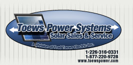 Toews Power Systems Logo