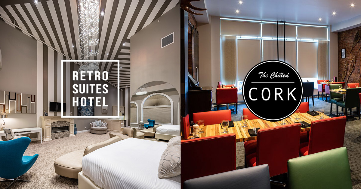 Retro Suites Hotel and The Chilled Cork