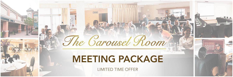 Carousel Room - Meeting Package