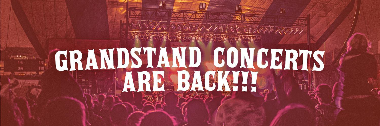 Grandstand Concerts are BACK!