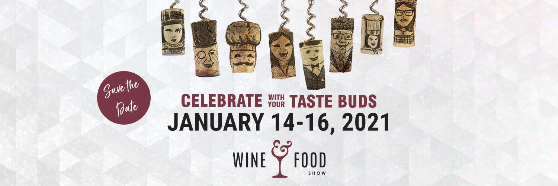 Wine & Food Show 2021 Banner Image