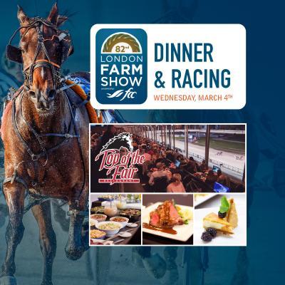 Farm Show Dinner & Racing