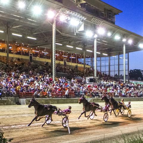 The Raceway Grandstand