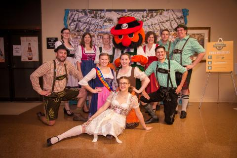 Oktoberfest Saxonia Hall Dancers Group Photo