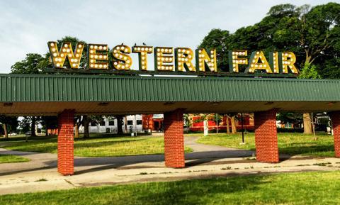 Western Fair Sign