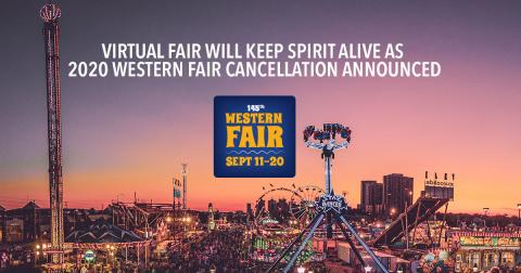 Western Fair 2020 Cancelled